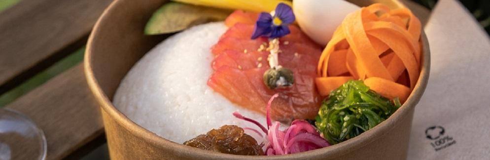 plato de comida de la cocina de Malu